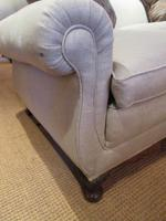 Top Quality Antique Walnut Three Seater Settee (7 of 10)