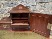 Antique Rosewood Inlaid Writing Desk (7 of 19)