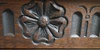 Wood Bros Old Charm Furniture Oak Corner Cabinet (13 of 13)