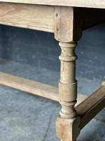 French Bleached Oak Farmhouse Kitchen Table (14 of 25)
