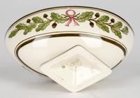 Wedgwood Etruria Acorn Pattern Creamware Pottery Salt 1882 (4 of 11)