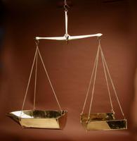 Frisian Brass Free Hanging Balance Beam Scales (2 of 10)
