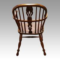 Set of 6 19th Century Windsor Armchairs (4 of 6)