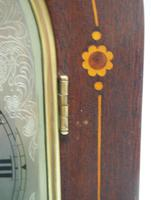 Antique German Quarter Chiming Mantel Clock (5 of 11)