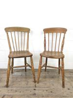 Set of Four Mix & Match Farmhouse Chairs (7 of 9)