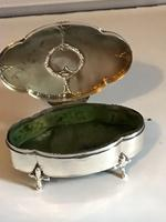 Antique Solid Silver Trinket Box Hallmarked Birmingham 1938 (6 of 12)