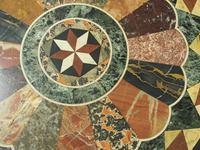 Italian Specimen Marble & Mahogany Table (8 of 12)