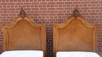 Pair of French Walnut Single Beds (12 of 17)