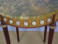 Good Louis XVI Style Marble & Kingwood Lamp Table (7 of 8)