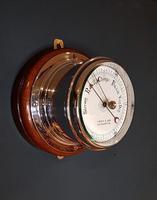 Superb Antique Bulkhead Marine Barometer (6 of 6)