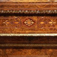 Fine Victorian Inlaid Walnut Credenza (10 of 15)