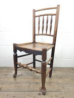 Set of Four 19th Century Elm Country Chairs (5 of 13)