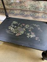 19th Century Three Tiered Lacquered Stand (5 of 6)