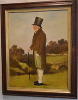 English Naive Oil Painting of Gentleman (2 of 6)