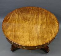 William IV Mahogany Drum Table (3 of 6)
