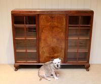Burr Walnut Bookcase by Heals (8 of 11)