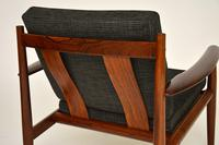 1960's Pair of Danish Rosewood Armchairs by Grete Jalk (5 of 12)