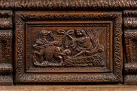 Mid-18th Century Finely Carved Oak Kist or Coffer (5 of 7)