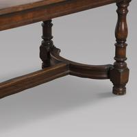 French Oak Refectory / Dining Table (4 of 4)