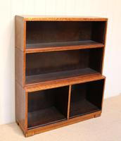 Minty Art Deco Open Bookcase (9 of 10)