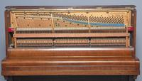 Mahogany Upright Piano by Bechstein, Berlin (11 of 14)