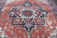 Antique Serapi Heriz Carpet 374x260cm (12 of 13)