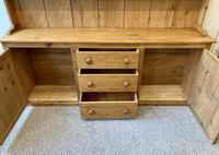 Large Antique Pine Dresser (5 of 16)