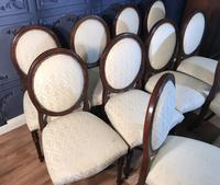 Set of Ten Mahogany Dining Chairs (7 of 10)