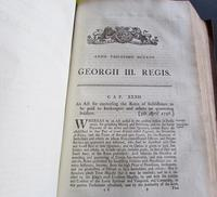 1798  94 Government Acts Passed in the 38 Year of the Reign of King George the Third (3 of 8)