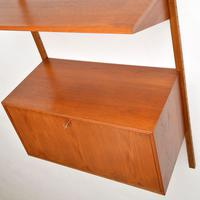 Danish Teak Vintage PS  Wall  System Bookcase Cabinet (7 of 9)