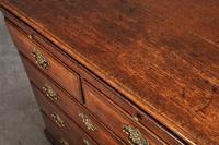 Small 18th Century Oak Chest of Drawers (5 of 10)