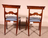 Two Regency Mahogany Chairs Circa 1800 (3 of 8)
