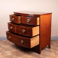 19th Century Mahogany Bow Fronted Chest of Drawers (14 of 15)