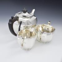 Art Deco Sterling Silver Tea Set Mappin & Webb 1932 (8 of 8)
