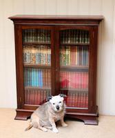 Edwardian Mahogany Glazed Bookcase c.1910 (7 of 11)