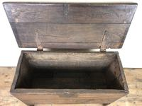 Small 18th Century Joined Oak Coffer (10 of 18)