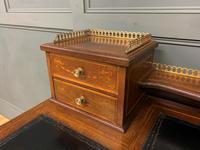 Edwards & Roberts Inlaid Mahogany Writing Desk (5 of 20)