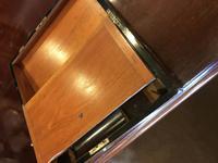 Burr Walnut Brass Inlaid Writing Box (11 of 17)