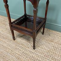 Stunning Victorian Inlaid Antique Mahogany Occasional Table (2 of 7)