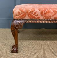Chippendale Style Long Stool / Bench (5 of 10)