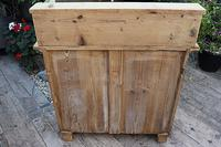 A Rare, Old Pine Sideboard/ Cupboard/ Desk/ Baby Changing Unit (11 of 11)
