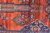 Old Afshar Carpet 305x209cm (3 of 9)