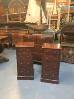 Pair of Victorian Bedside Chest of Tables (10 of 13)