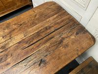 Rustic Oak Farmhouse Table & Bench Set (7 of 29)