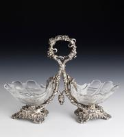 Attractive Pair of Late 19th Century Cut Glass Table Salts (4 of 4)