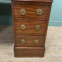 Large Victorian Mahogany Antique Partners Desk (5 of 10)