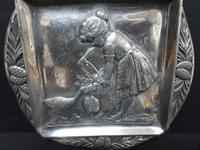 WMF Silvered Pewter Card Tray c.1900 (2 of 6)