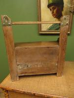 Small Rustic Wall Cabinet, Small Bathroom Cabinet (8 of 13)