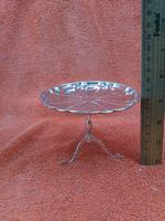 Antique Sterling Silver Hallmarked 1909 Bon Bon Dish as Table, Synyer & Beddoes (7 of 11)