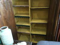 Antique Pine Cupboard Armoire Original Hand Painted (2 of 6)